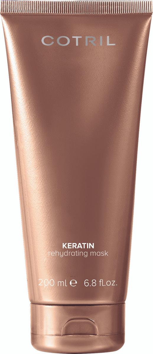 Cotril Кератиновая маска для волос KERATIN REHYDRATING MASK, 200 мл #1