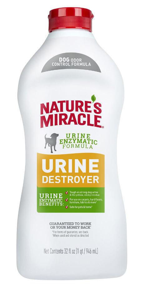 Уничтожитель пятен и запахов от мочи собак Nature`s Miracle Urine Destroyer, 945 мл  #1