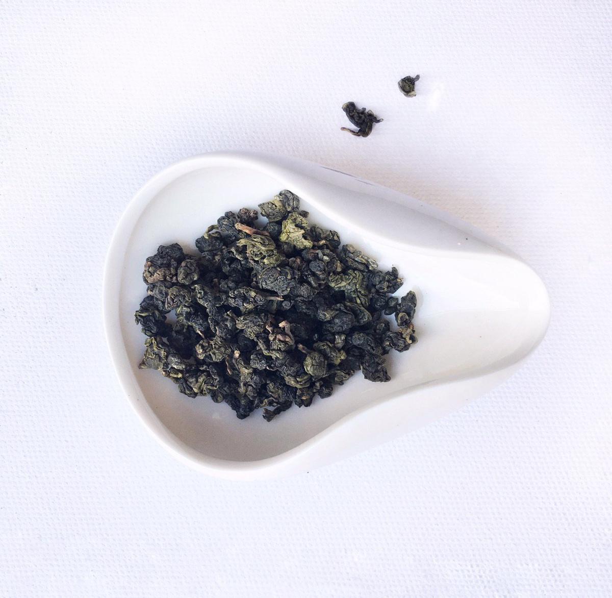 Молочный Улун (Оолонг) Настоящий Китайский Листовой Зеленый Чай Чайные облака (Чай Из Китайских Заповедников, #1