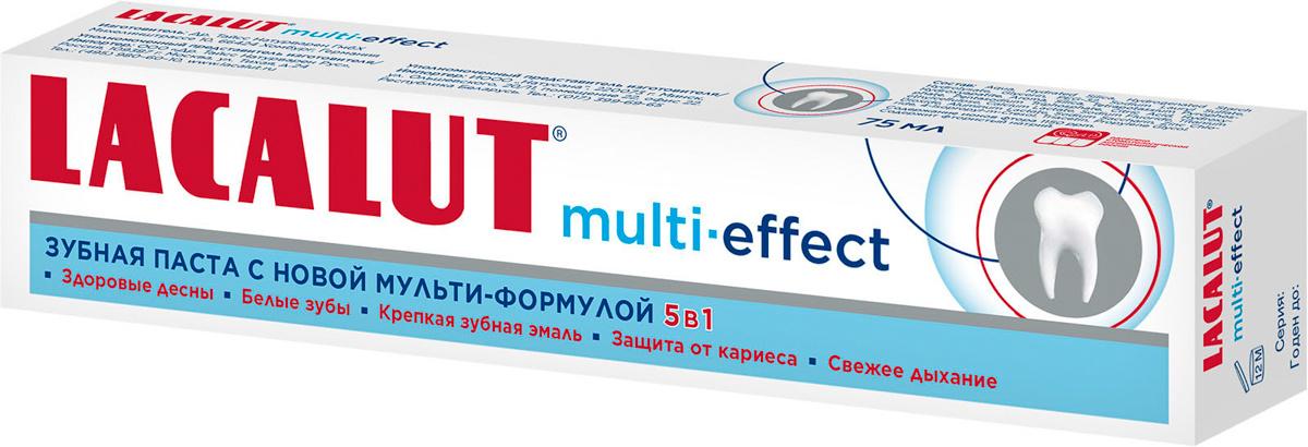 Lacalut multi-effect, зубная паста, 75 мл #1
