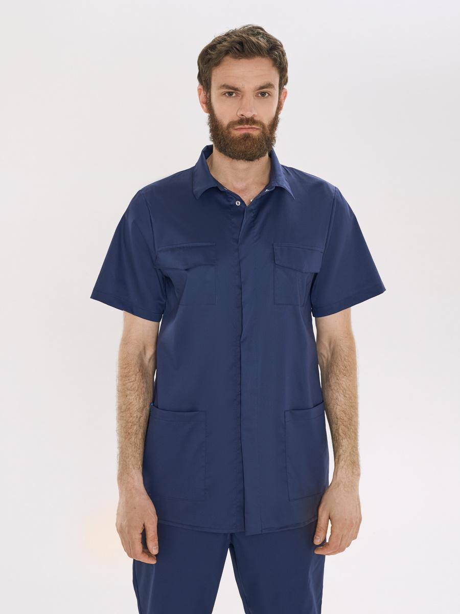 Рубашка медицинская мужская Medcostume #1