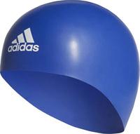 Плавательная шапочка Adidas Premoulded Silicone 3D Cap, цвет: синий. Размер M Уцененный товар (№1)
