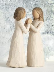 "Статуэтка ""Сестры по сердцу / Sisters by heart"". Декоративная фигурка Willow Tree. Статуэтки Willow Tree"