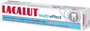 Lacalut multi-effect, зубная паста, 75 мл. Вместе дешевле!