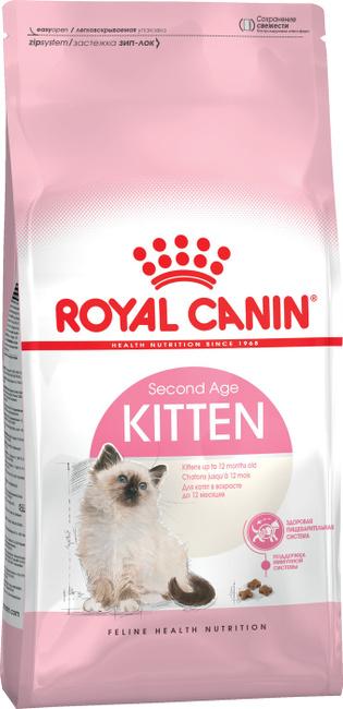 Корм сухой royal canin kitten для котят