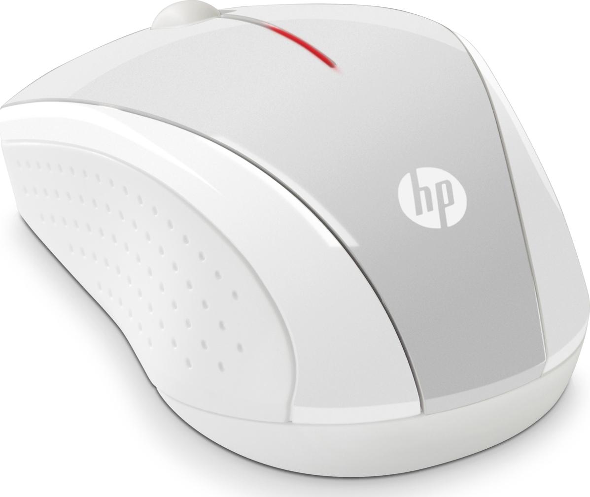 Мышь беспроводная HP X3000, серебристый