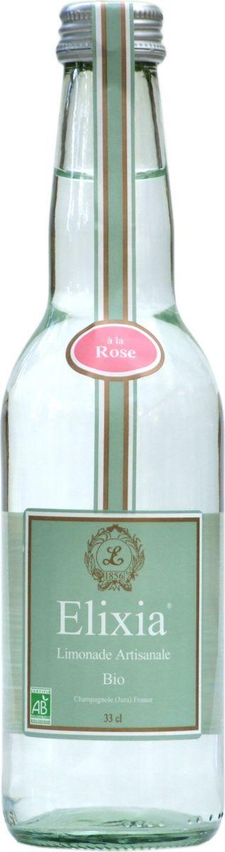 Лимонад Elixia Bio Роза, 330 мл
