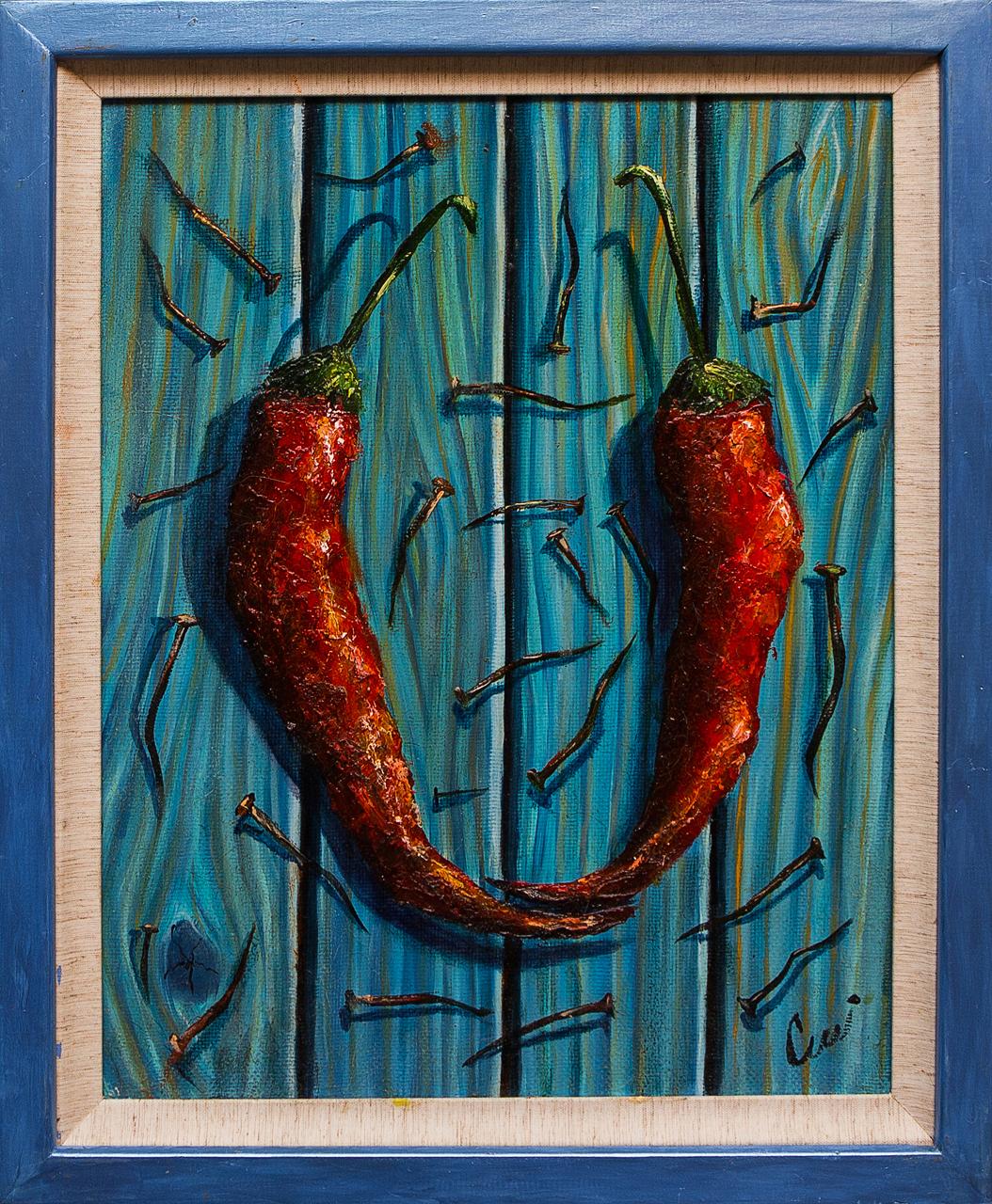 Картина маслом Острые Шевцов иван шевцов бородинское поле