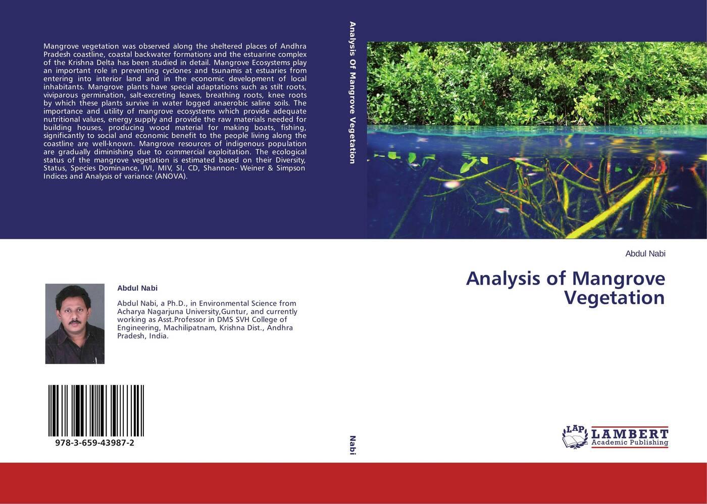 Abdul Nabi Analysis of Mangrove Vegetation цена в Москве и Питере