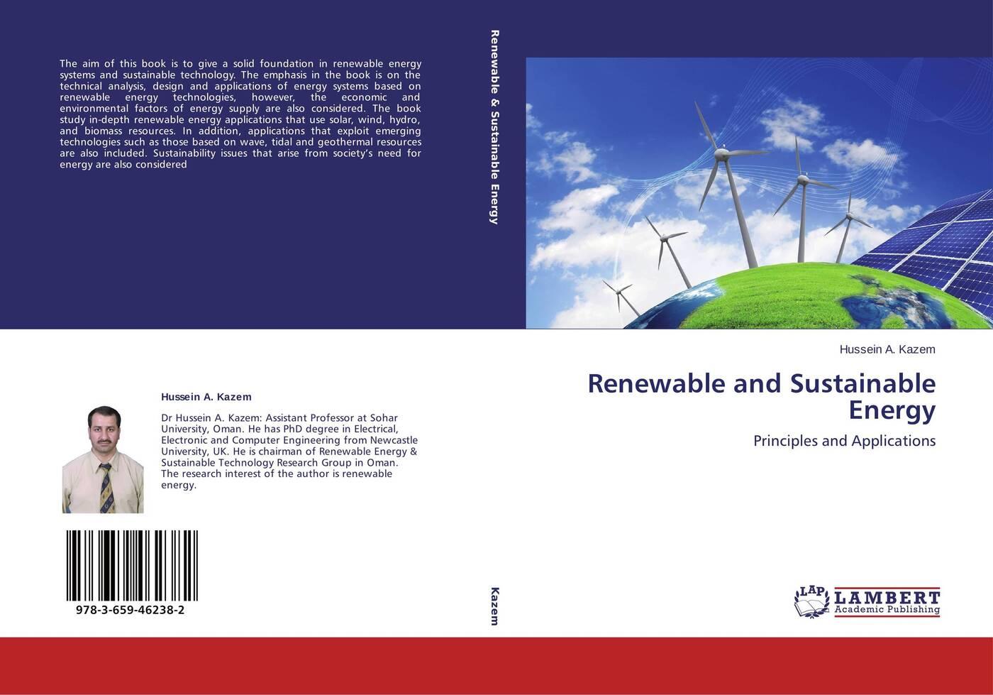 лучшая цена Hussein A. Kazem Renewable and Sustainable Energy