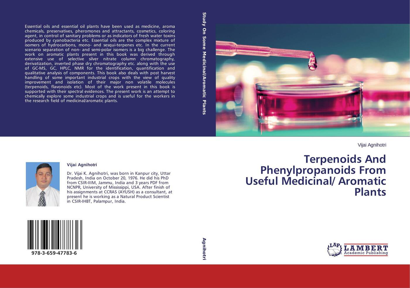Vijai Agnihotri Terpenoids And Phenylpropanoids From Useful Medicinal/ Aromatic Plants цена