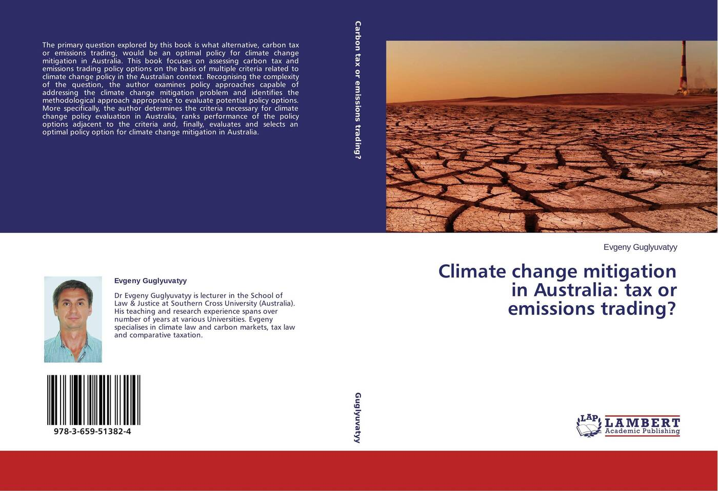 Evgeny Guglyuvatyy Climate change mitigation in Australia: tax or emissions trading? недорго, оригинальная цена