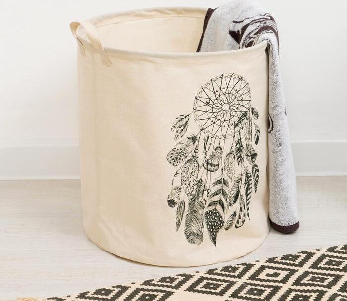 Корзинка текстильная Ловец снов 35 х 40 см, Этель