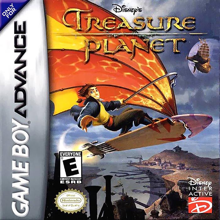 GBA Treasure Planet (Русская версия)
