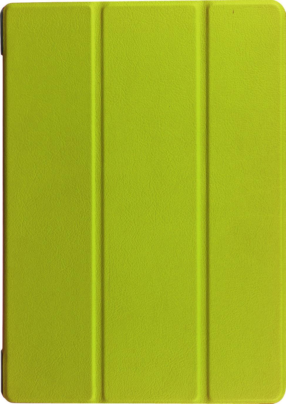 """Чехол-обложка MyPads для Lenovo Tab 3 TB3-850F/M 8.0"""" (ZA180028RU / ZA180059RU) тонкий умный кожаный на пластиковой основе с трансформацией в подставку зеленый"""