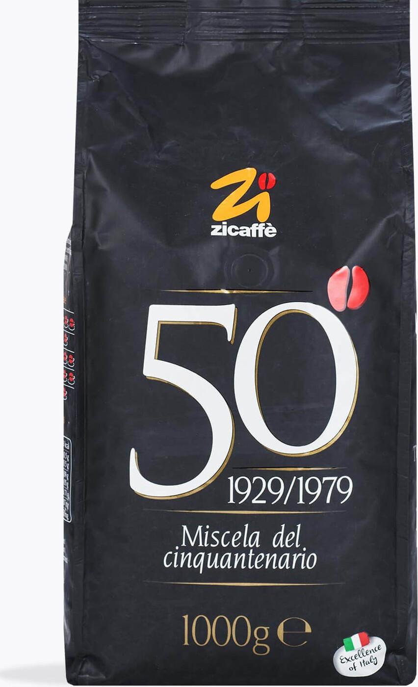 Кофе в зернах Zicaffe Cinquantenario 1 кг