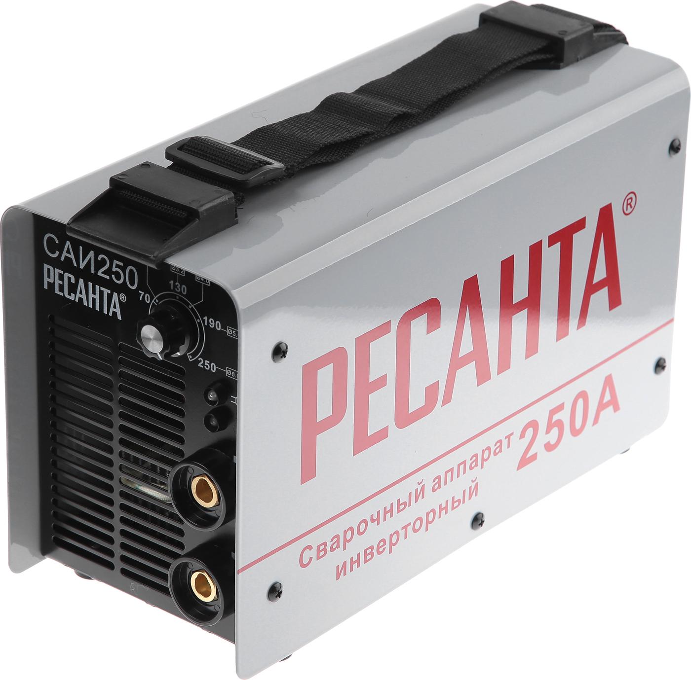 цена на Сварочный аппарат инверторный САИ 250 Ресанта