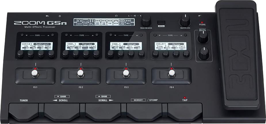 Напольный гитарный процессор эффектов Zoom G5N недорго, оригинальная цена