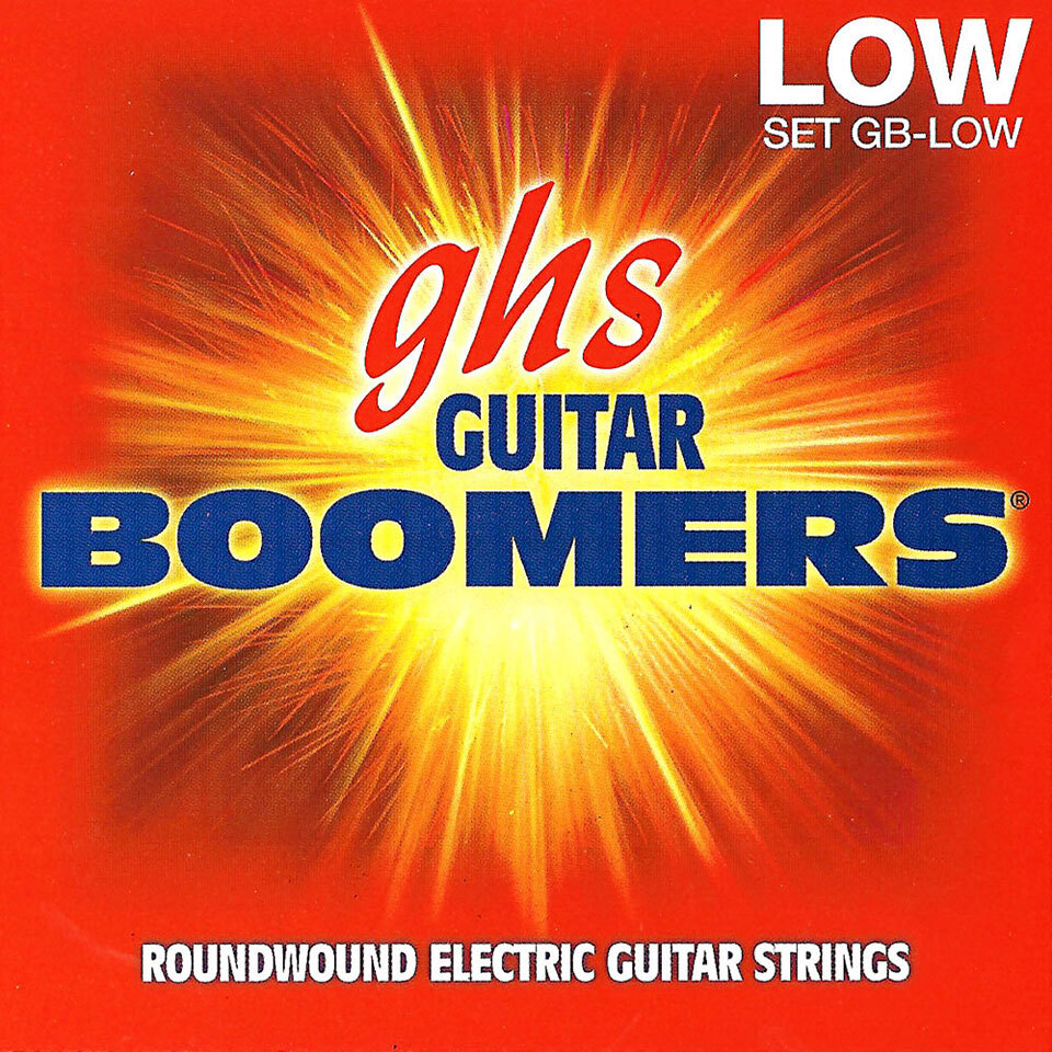 GHS GB-LOW Струны для электрогитары (11-53)