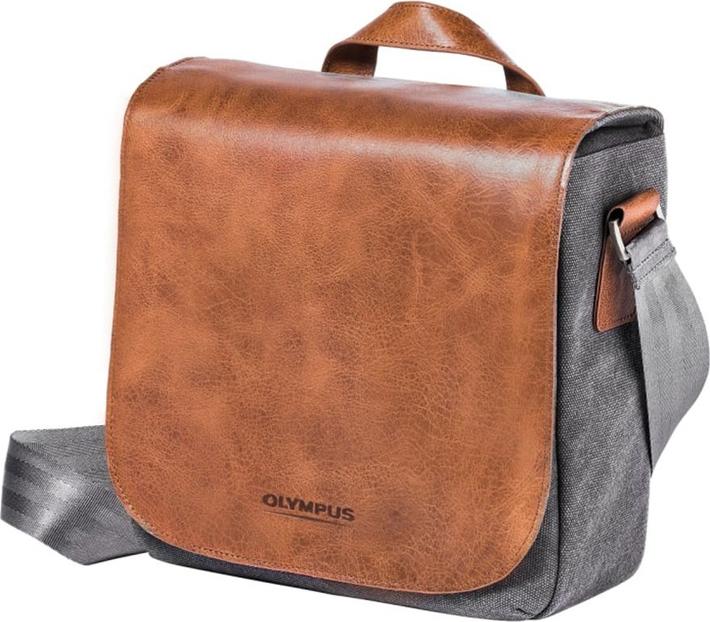 Сумкa для фото- видеотехники Olympus Mini Messenger Bag from Leather and Canvas