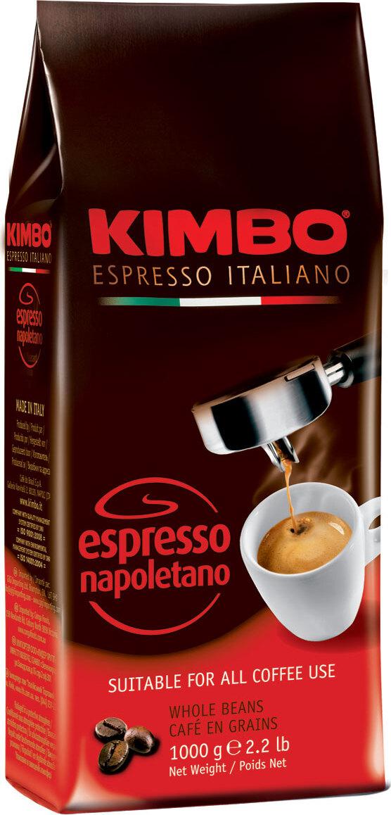 Kimbo Espresso Napoletano кофе в зернах, 1 кг кофе в зернах kimbo espresso unique 1 кг