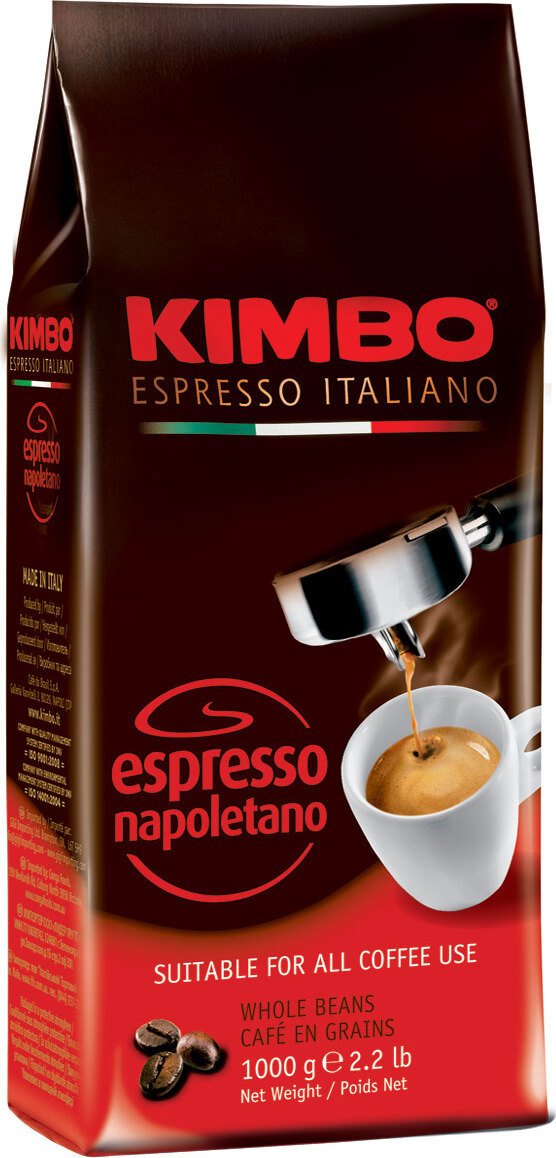 Kimbo Espresso Napoletano кофе в зернах, 1 кг цена