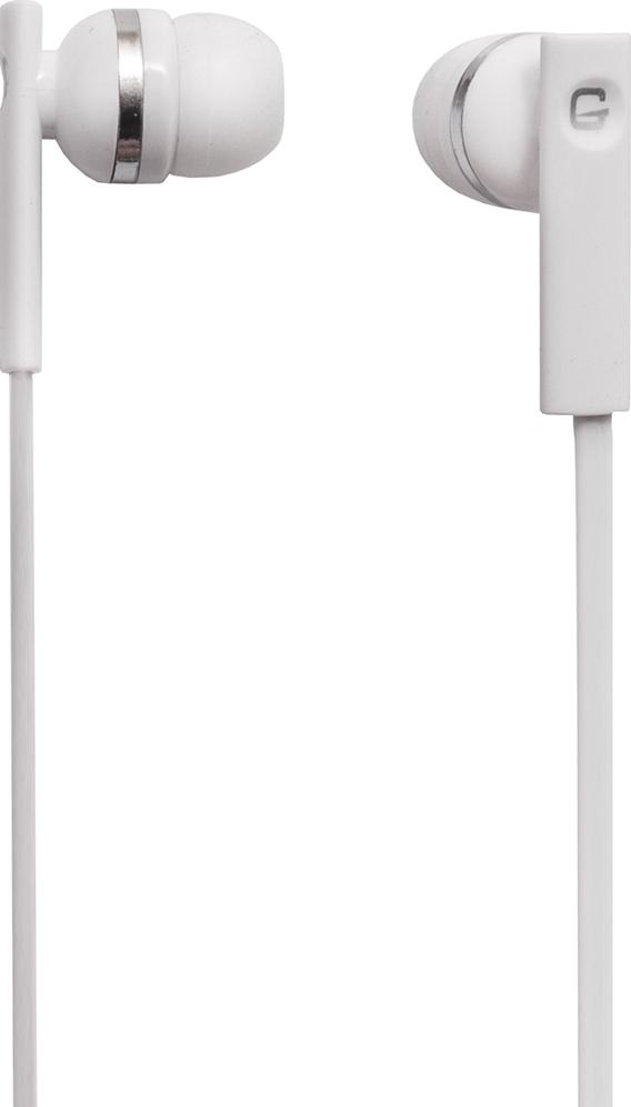 цена на Наушники проводные GAL M-005W-F Цвет: белый