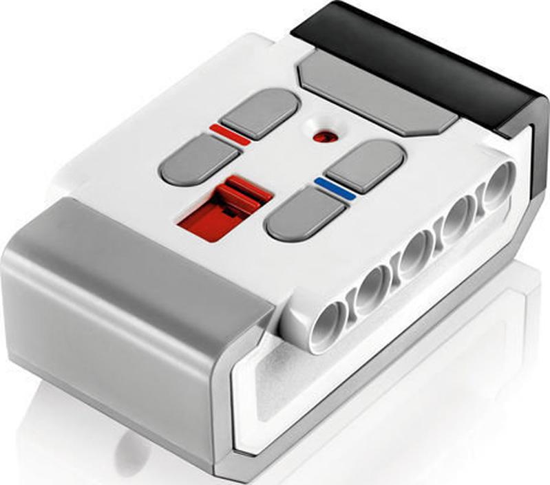 LEGO 45508ИК-маяк EV3 Маяк излучает ИК-сигнал, улавливаемый датчиком. ИК-маяк был сделан...