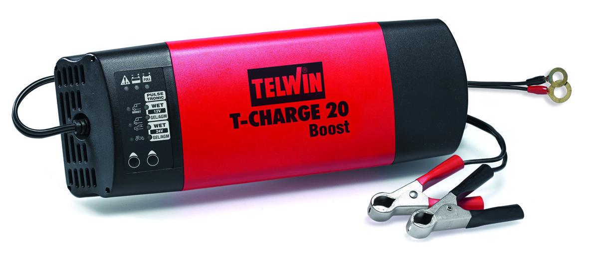 Зарядное устройство автомобильное TELWIN T-CHARGE 20 BOOST 12-24В