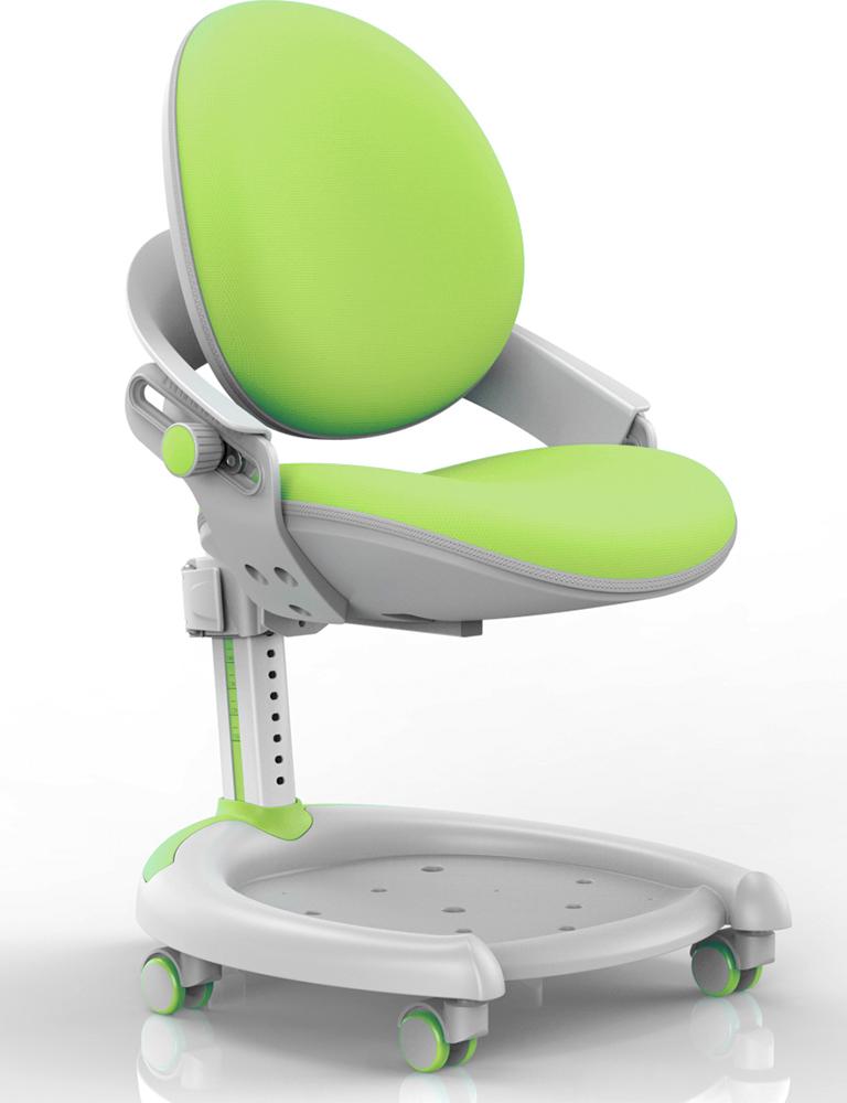 Детское кресло Mealux ZMAX-15 Plus (цвет обивки: зеленый, цвет каркаса: белый металл)