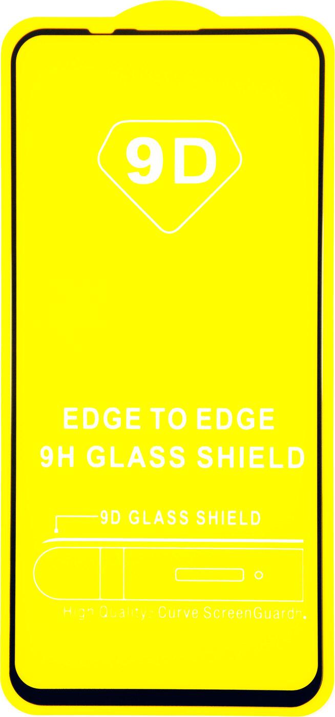 Защитное стекло Huawei Honor 20 Pro (полная проклейка, черная рамка)
