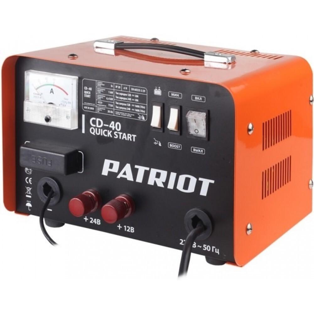 Пуско-зарядные устройства PATRIOT Quick start CD-40