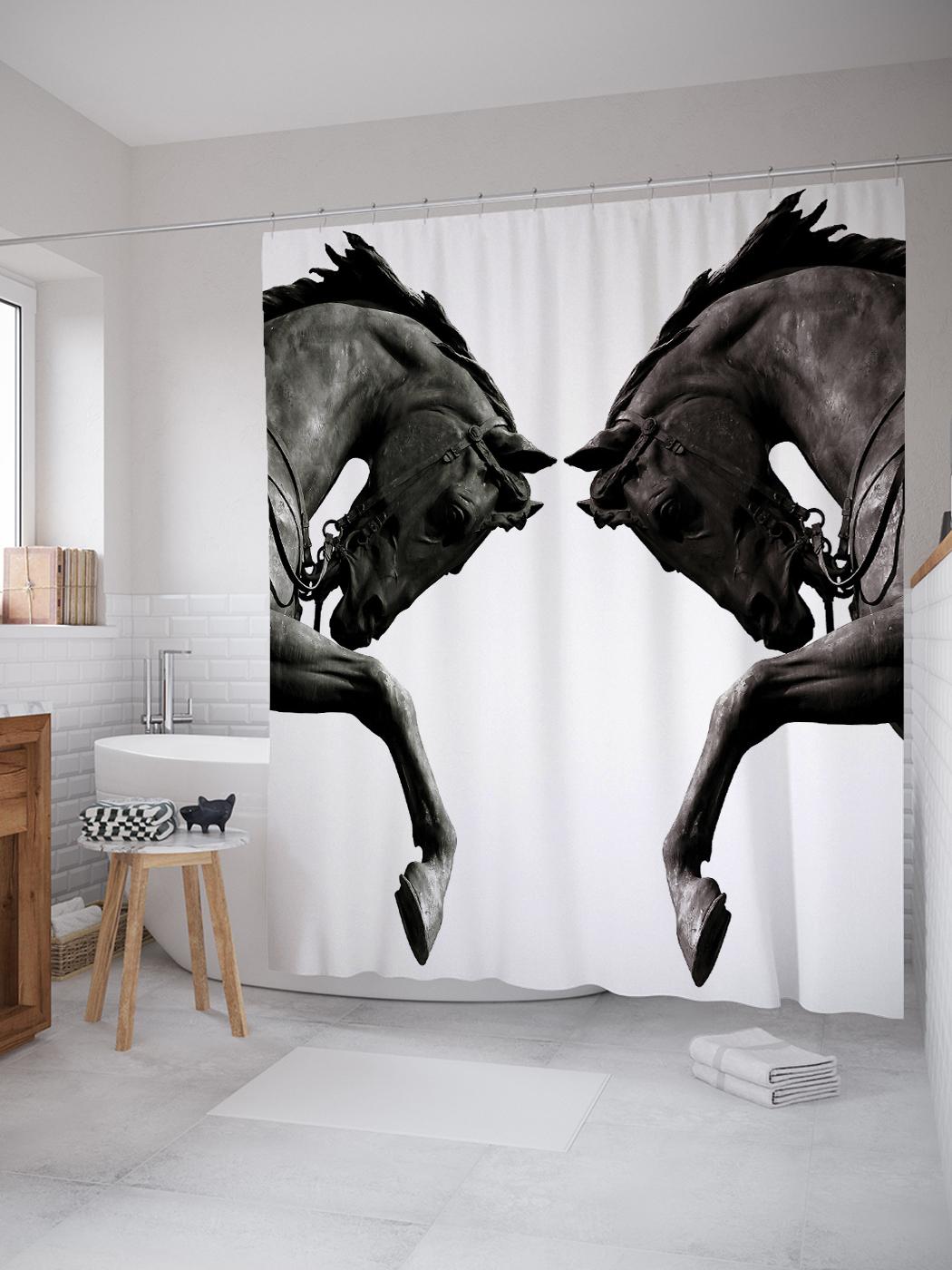 нашем лошади на зеркале картинки можно выполнить любом