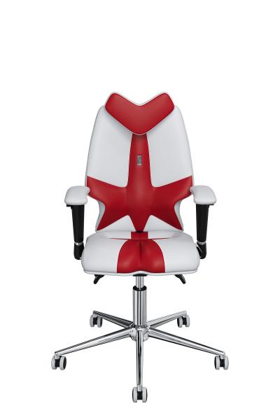 Детское компьютерное кресло KULIK SYSTEM FLY Бело-красный