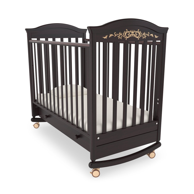 Кровать детская Гандылян Даниэль  Люкс (махагон)