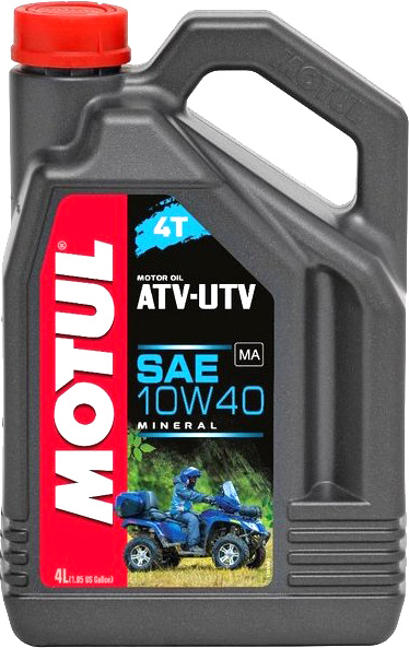 Масло моторное Motul ATV-UTV 4T 10W-40 4л (105879)