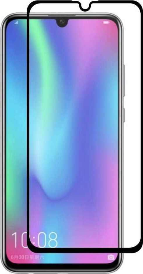 Защитное стекло 5D Tempered Glass для Huawei Honor 10i черное