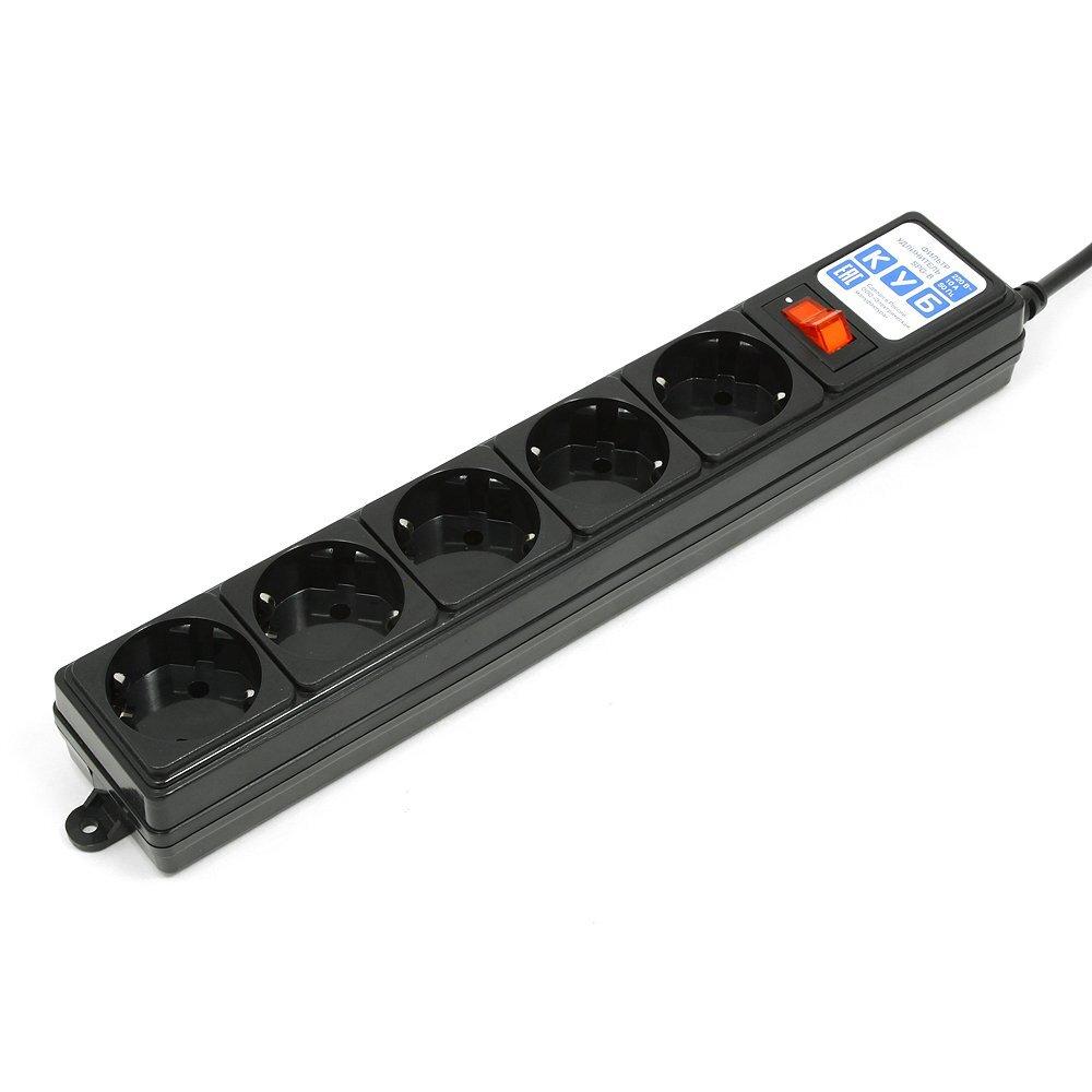 Сетевой фильтр Power Cube SPG-B-Black 1,9 м.