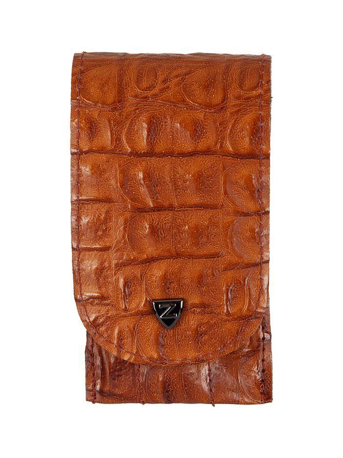 Zinger Маникюрный набор дорожный 5 предметов (MS-Z-12-S), коричневый