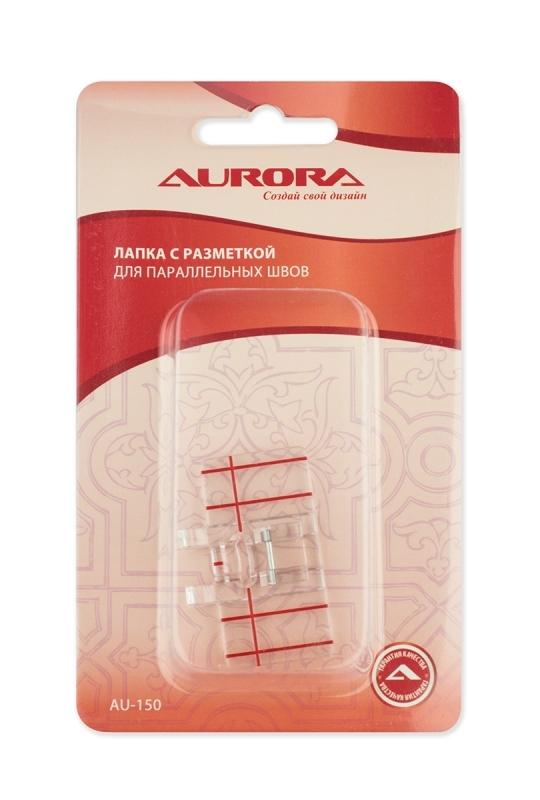 Лапка с разметкой для параллельных швов Aurora