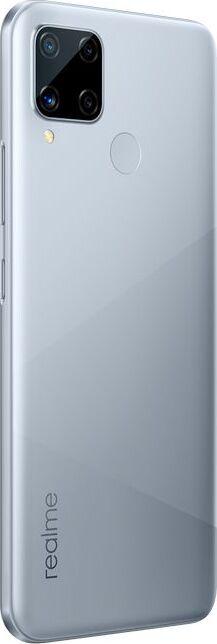 смартфон realme c15 3/64gb, серебристый