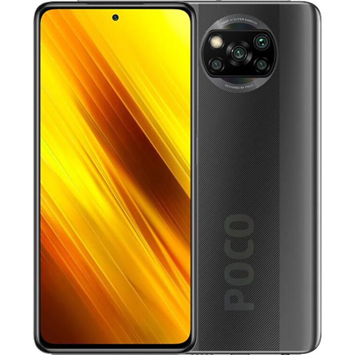 смартфон poco x3 nfc  6/128gb, серый