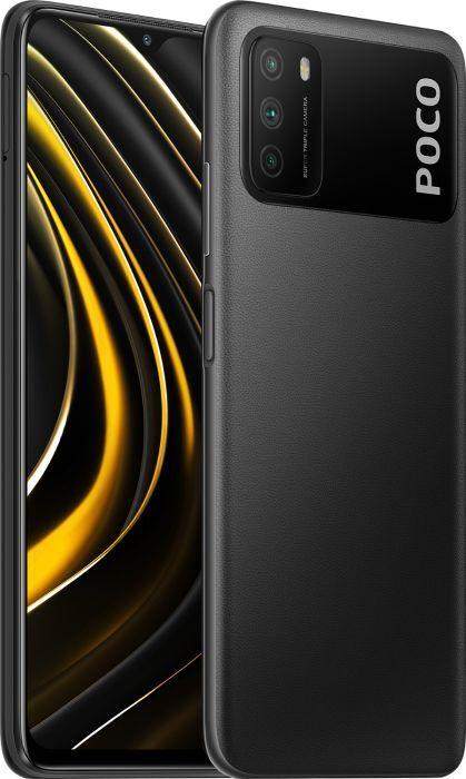 Смартфон Poco M3 4/64GB, черный J19C. Уцененный товар