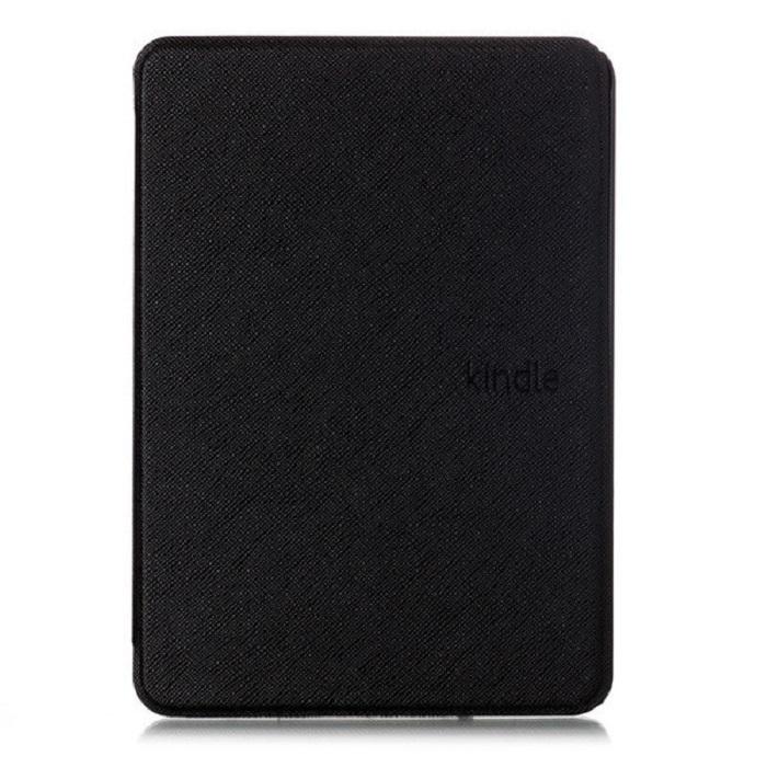 чехол-обложка skinbox ultraslim для amazon kindle 10 с магнитом (черный)