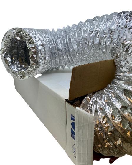 Гибкий алюминиевый воздуховод DEC International Aludec AA3/A23-152mm x 10м голландской компании DEC International