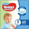 Huggies Подгузники для мальчиков Ultra Comfort 12-22 кг (размер 5) 64 шт - изображение