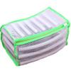 LEMLEO Мешок сумка для стирки спортивной обуви, кроссовок в стиральной машине, сетка, светло-зелёный - изображение
