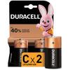 Батарейки щелочные Duracell C/LR14, 2 шт - изображение
