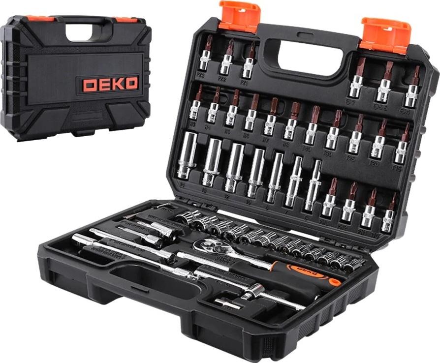 Набор инструментов для автомобиля DEKO TZ53 (53 предмета) #1