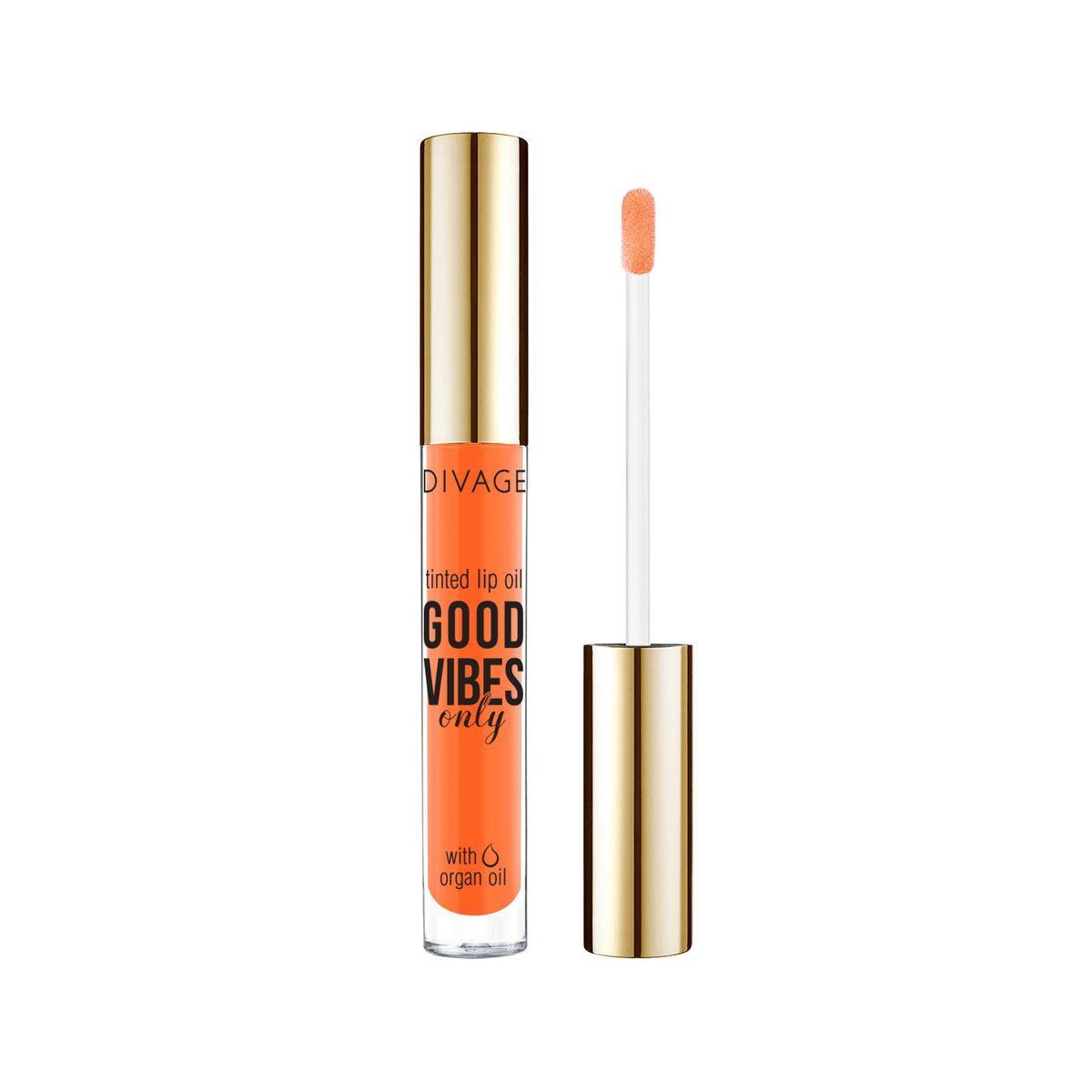 Масло-блеск для губ Divage Lip Oil Good Vibes Only, № 02  #1